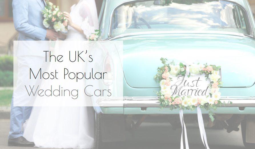 The UK's Most Popular Wedding Cars